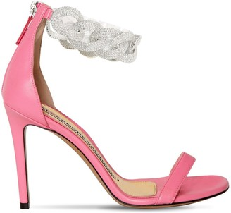 Alexandre Vauthier 100mm Leather Sandals