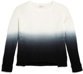 Design History Girls' Dip-Dyed Sweater
