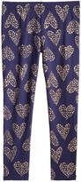 Epic Threads Glitter-Heart Leggings, Toddler Girls, Created for Macy's