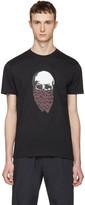 Markus Lupfer Black Skull Bandana T-shirt