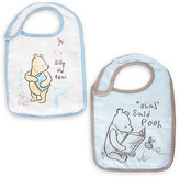 Disney Winnie the Pooh Bib Set for Baby - Blue - 2-Pack