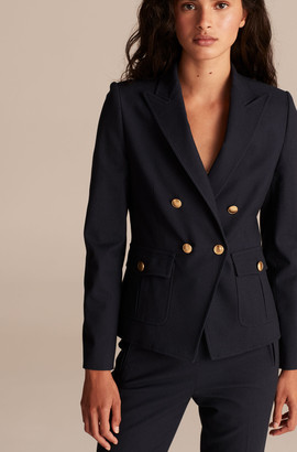 Rebecca Taylor Tailored Basketweave Suiting Jacket