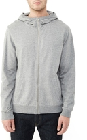 Alternative Hideaway Eco-Micro Fleece Zip Hoodie