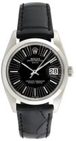 Rolex Vintage Unisex Stainless Steel Date Watch, 34mm