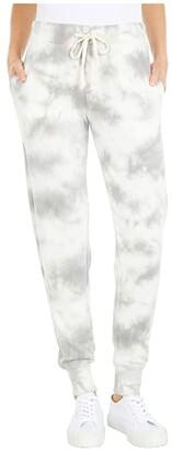Alternative Lightweight French Terry Tie-Dye Joggers (Grey Tie-Dye) Women's Casual Pants