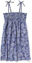 Old Navy Smocked Tie-Strap Swing Dress for Girls