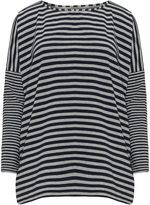 Isolde Roth Plus Size Striped oversized t-shirt