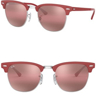 Ray-Ban Icons 51mm Polarized Clubmaster Sunglasses
