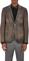 Lanvin Men's Houndstooth Wool Two-Button Sportcoat