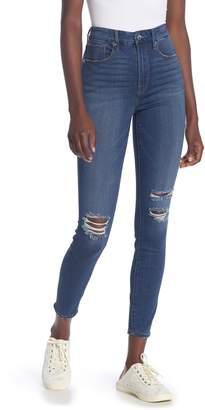 Good American Good Waist High Waist Skinny Jeans (Regular & Plus Size)
