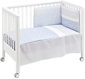 Camilla And Marc Cambrass Bedspread Plus Bumper Set (60 x 120 cm, Star Blue)