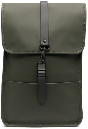 Rains Daypack faux leather backpack