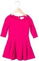 Kate Spade Girls' Long Sleeve Pleated Dress