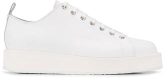 Jil Sander Lana platform sneakers