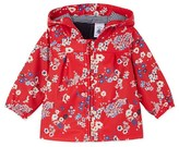Petit Bateau Baby girls printed raincoat