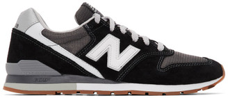 New Balance Black 996 Sneakers