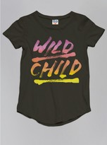 Junk Food Clothing Kids Girls Wild Child Tee-black Wash-l
