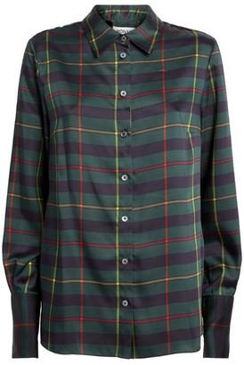 Monse Tartan Harris Shirt