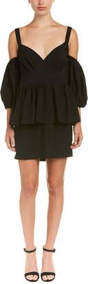 Rapture Isla Cold-Shoulder Mini Dress