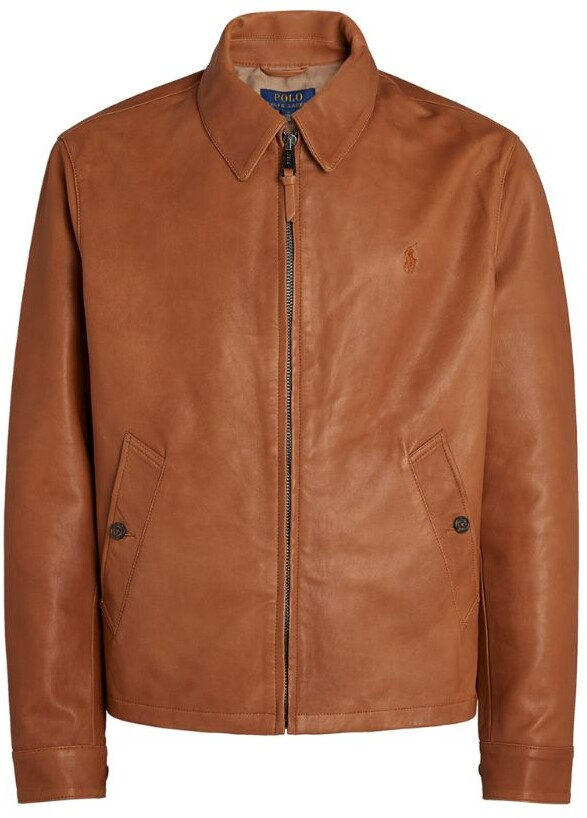 Thumbnail for your product : Polo Ralph Lauren Leather Jacket