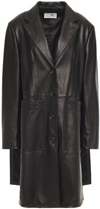 MM6 MAISON MARGIELA Leather Coat