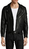 IRO Maizil Leather Motorcycle Jacket