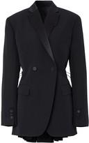 Burberry cut-out tuxedo jacket