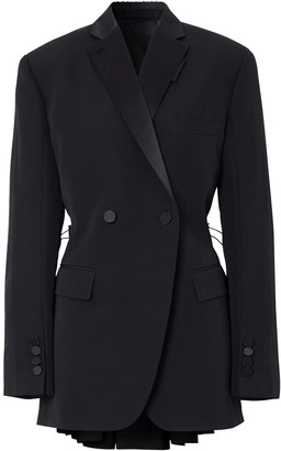 Burberry Cut-Out Tuxedo Jacket