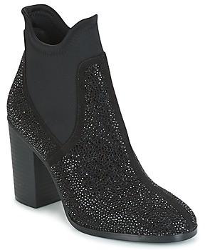 CAFe'NOIR JORDE women's Low Ankle Boots in Black