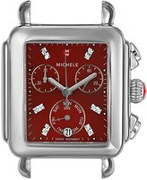 Michele Women's Swiss Quartz Stainless Steel Automatic Watch, Color:Silver-Toned (Model: MW06P00A0088)