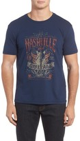 Lucky Brand Men's Nashville Guitars Graphic T-Shirt
