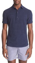 Orlebar Brown Men's 'Sebastian' Cotton Terry Polo