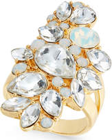 INC International Concepts I.N.C. Gold-Tone Crystal Cluster Ring, Created for Macy's