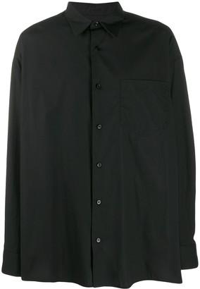 Ami Side Slits Oversized Shirt