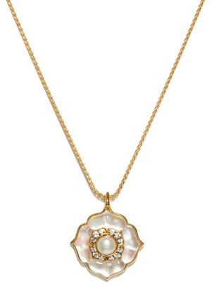 Noor Fares Nirvana Diamond, Pearl & 18kt Gold Necklace - Pearl