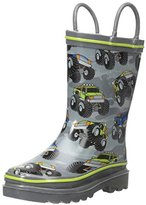 Western Chief Kids' Monster Crush Rain K Pull-On Boot