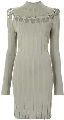 Dion Lee Braided Skivvy Mini Dress