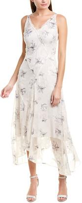 Jason Wu Winter Floral Silk-Blend Maxi Dress