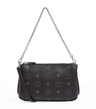 MCM Small Visetos Millie Shoulder Bag
