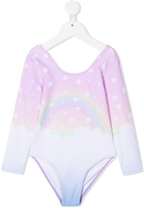 Stella McCartney Kids Rainbow Print Bodysuit