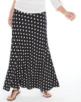 Chico's Aria Polka-Dot Maxi Skirt