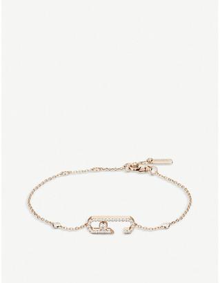 Messika Move Addiction 18ct rose-gold and diamond bracelet
