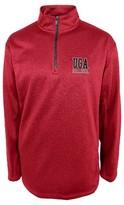 NCAA Georgia Bulldogs Men's 1/4 Zip Sweatshirt