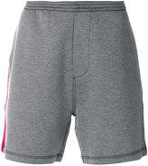 DSQUARED2 stripe detail shorts