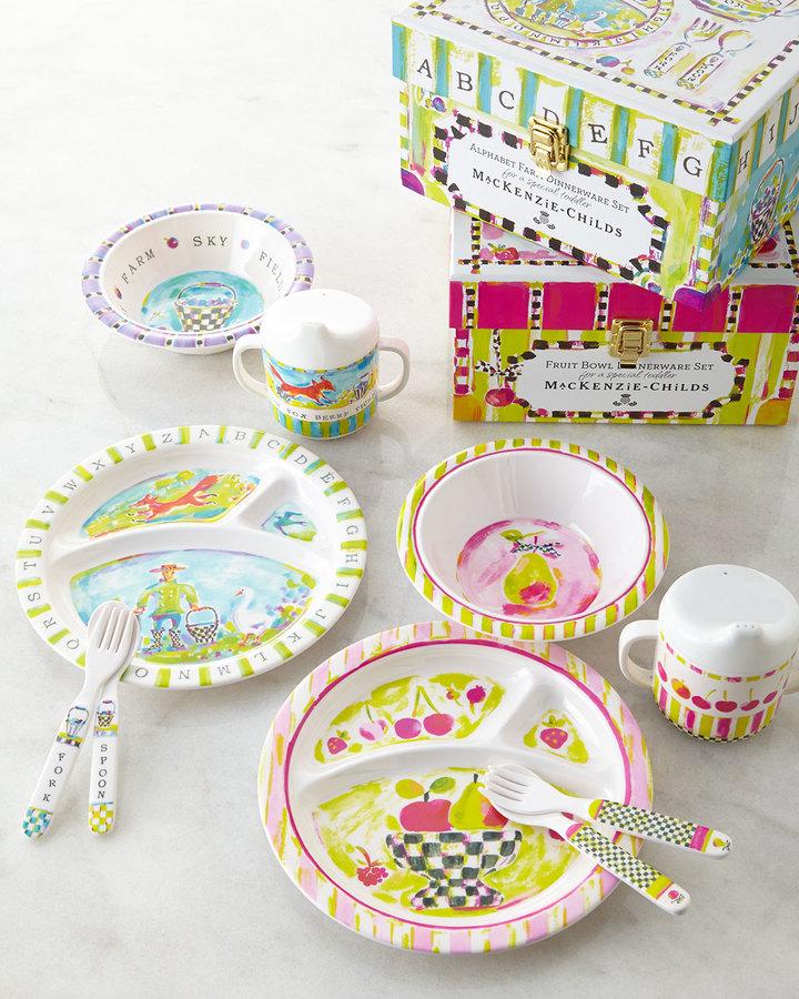 Mackenzie Childs MacKenzie-Childs Toddler's Dinnerware Set