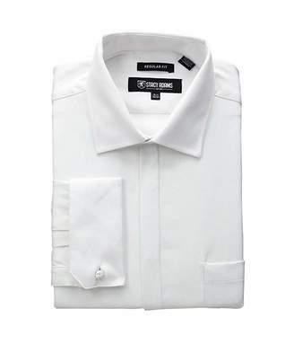 Stacy Adams Textured Solid Dress Shirt