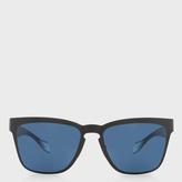 Paul Smith Matte Black 'Barson' Sunglasses