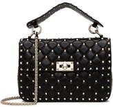 Valentino Nappa Rockstud Spike Medium Shoulder Bag