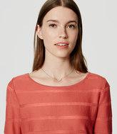 LOFT Shadow Stripe Sweater