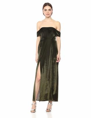 Show Me Your Mumu Women's Upton Off Shoulder Maxi Dress